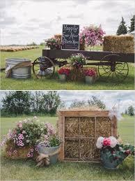 Wedding Entrance Backdrop Rustic Farm Wedding Ceremony Entrance Decor Fun Wedding Ideas