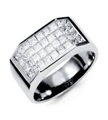 men rings prices images 18k white gold mens hot stylish princess diamond ring men 39 s jpg
