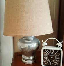 thrift store decor upcycle challenge faux mercury glass lamps