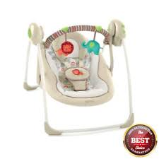 portable baby swing with lights baby swing cradle music lights sound bouncer jumper portable rocker