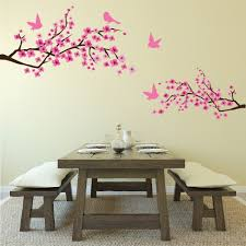 Large Wall Stickers Uk Floral Flowers Trees U0026 Foliage Wall Stickers Iconwallstickers