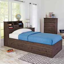 better homes and gardens crossmill twin bookcase headboard