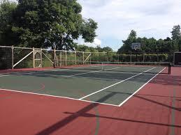 Backyard Tennis Courts by Tennis Court Resurfacing U0026 Repair Vermont