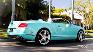 for sale rare bentley continental gtc with custom tiffany
