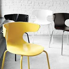French Yellow Chair Vintage French Square Armchair Dining Chair Collection Furniture