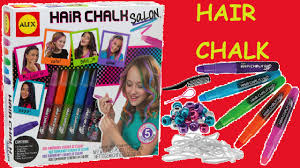 hair makeup for kids alex toys spa hair chalk salon craft kit