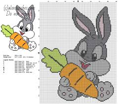 baby bugs bunny with carrot looney tunes cartoons character free