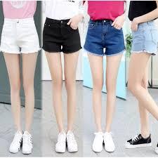 Light Blue High Waisted Jeans Korean Style Women U0027s Jeans Slim Short Jeans High Waist Jeans