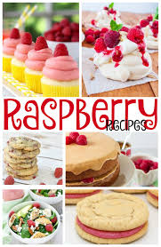 17 raspberry recipes including cookies cupcakes and more