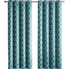 Green And Blue Curtains Blue Willow Curtains Wayfair