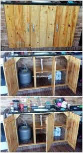 kitchen cabinets from pallet wood extraordinary useful diy pallet craft ideas diy pallet