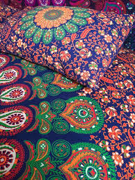 tantra bed set hippie mandala bedding hippie pillow cases