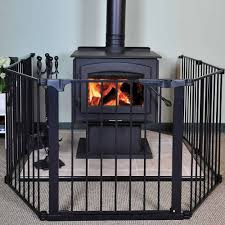 Baby Proof Fireplace Screen by Clicktoshop