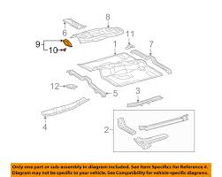 lexus warranty refund lexus toyota oem 03 09 gx470 floor rails foot rest 5819060080 ebay
