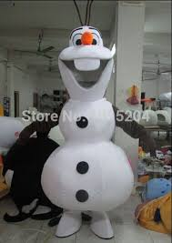 olaf costume high quality olaf mascot costume elsa mascot costume and