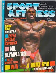 bill goldberg muscular development workout magazine back issues books