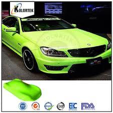 bright neon yellow car paint pigment fluorescent pigment neon car