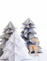 Origami Christmas Decorations Reindeer by 399 Best Christmas Tree Paper Fun Images On Pinterest