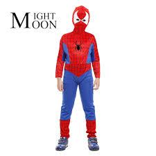 Boys Spider Halloween Costume Moonight Disfraces Children U0027s Halloween Costumes Boys Spider Man