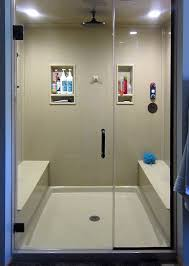 Shower Designs With Bench Custom Shower Designs