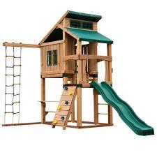 swing n slide playsets hideaway clubhouse playset pb 8129 the