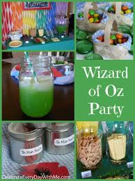 Wizard Of Oz Party Decorations Wizard Of Oz Party U0026 Family Movie Night Celebrate Every Day With Me