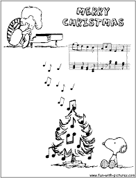 peanuts christmas coloring pages paginone biz