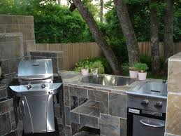 Outdoor Kitchen Countertops Ideas Luxury Outdoor Kitchen Sink And Cabinet Taste