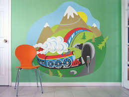 kids room wall murals 12 best kids room furniture decor ideas cherished the cute wall mural with built up in shelving on this area usually it may be a problem to design a kids scope with a theme that does not