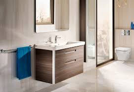 Cloakroom Furniture Vanity Units Dama Wash Basin With Vanity Unit By Roca Stylepark