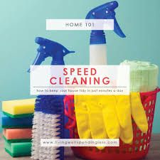 speed cleaning how to get a neat u0026 tidy house in minutes a day