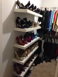 lack shelves from ikea shoe rack and display sprucing up the
