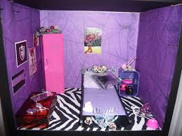 Monster High Room Decor Ideas Purple Zebra Bedroom Bedrooms And On Pinterest Idolza