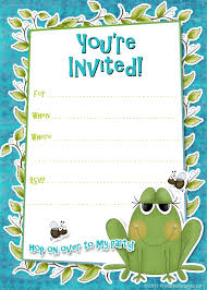 Abbreviation Of Rsvp In Invitation Card Birthday Party Invitation Templates Word Birthday Invitations