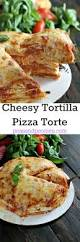 4 ingredients only delicious and cheesy pepperoni tortilla pizza