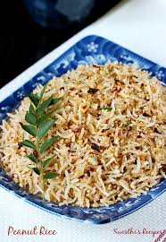 Indian Style - peanut rice recipe south indian style peanut rice recipe