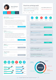 ui design cv resume flat design timeline flat ui flat design and user
