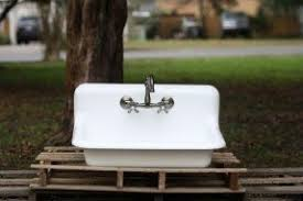 Cast Iron Farmhouse Kitchen Sinks by Drop In Farmhouse Kitchen Sink Foter