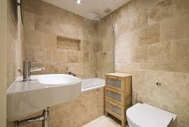 Travertine Bathroom Floor Dry Treat Surfaces Travertine