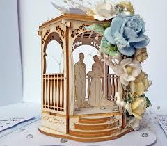 wedding arbor used craftyenjoyments exploding box with 3d wedding arbor
