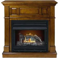 propane outdoor fireplace logs log lighter home depot