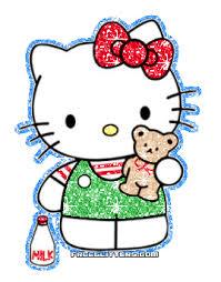 gambar kitty animasi bergerak lucu kata kata bijak mutiara