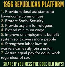 Gop Meme - viral meme says 1956 republican platform was pretty liberal