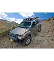 nissan xterra 2015 lifted nissan xterra 05 15 ranger rack multi light setup no sunroof