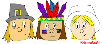 pilgrims indians thanksgiving clip plays