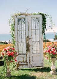 wedding backdrop doors 27 wonderful wedding backdrops with doors weddingomania weddbook
