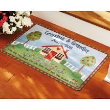 Fun Doormat Personalized Grandma U0026 Grandpa Doormat Multiple Sizes Walmart Com