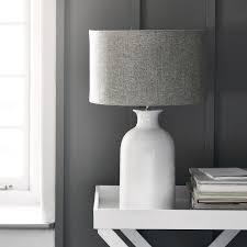 ceramic large bottle table lamp lighting the white company uk