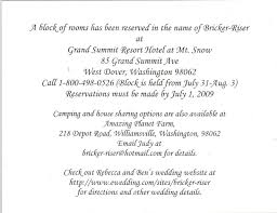 Wedding Reception Wording Examples Wedding Invitation Cards Samples Lake Side Corrals