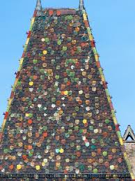 brown black and green sequin shape house free image peakpx